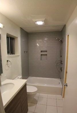 ニッチのあるシャワールーム